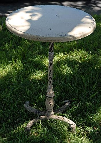 Richland Rustic Iron Pedestal 26'' Cocktail Table
