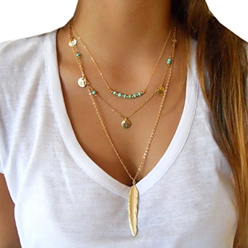 Multilayer Irregular Crystal Statement Necklace product image