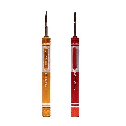 fixinus precisión Tri-Point Pinhead y punta de 0,6 mm Phillips + 2,5 ...