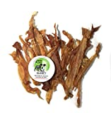 Sancho & Lola's Turkey Tendons for Dogs – 14oz Value Pack Hackberry-Smoked, USDA Human-Grade, Naturally Grain-Free Rawhide Alternative Chews – See Size Options for Non-Smoked Turkey and Beef Tendons