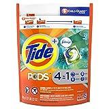 Tide PODS with Febreze, Liquid Laundry Detergent Pacs, Botanical Rain, 23 count