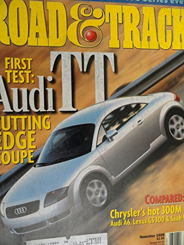2000 Audi TT Coupe / 1999 BMW 328i / Audi A6 / Chrysler 300M / Lexus GS300 GS 300 / Saab 9-5 Road Test (Manual Tt Coupes)