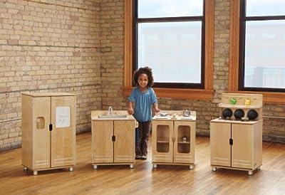 Truemodern Home Indoor Kids Playschool Classroom Kindergarten Play Kitchen - Stove