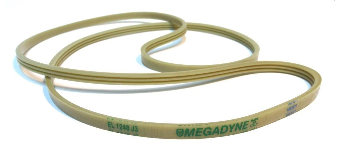 Megadyne - Correa de lavadora EL 1248 J3: Amazon.es: Hogar