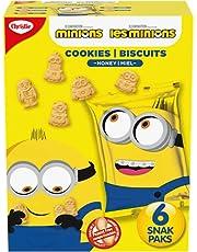 Christie Minion Honey Snak Pak Cookies, Back to School Snacks, 180g