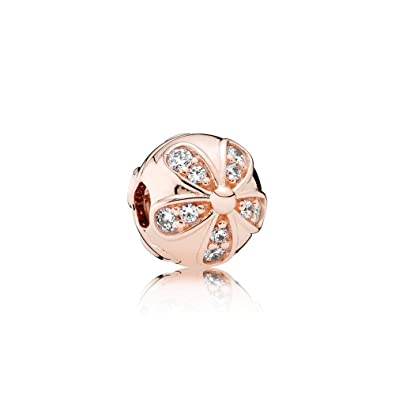 rose gold clip pandora