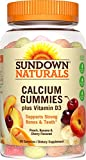 Sundown Naturals Calcium Plus Vitamin D3 Gummies, 50 Count (Pack of 3) For Sale