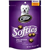 Cesar Softies Dog Treat - Filet Mignon - 6.7 oz