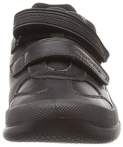 Start-rite Jungen Sr Warrior Large Sneakers, Schwarz (Schwarz), 30 EU Kinder