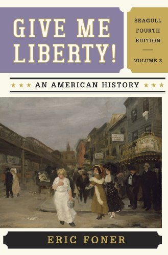 Give Me Liberty,Seagull Ed.,Vol.2