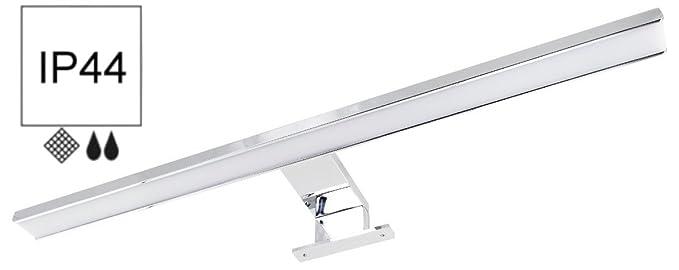 10 opinioni per 2in18W IP44LED Luce specchio Alluminio 500mm 600lm–Adattatore +