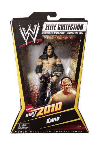 WWE Elite Collection Kane Figure Best of 2010 Series by Mattel
