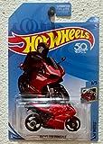 hot wheels moto - Hot Wheels 2018 50th Anniversary HW Moto Ducati 1199 Panigale (Motorcycle) 132/365, Red