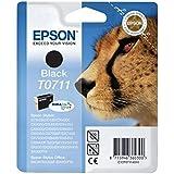 Epson T0711 - Cartucho de tinta, negro