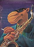 Large **PRINT AD** For 1994 Camel Genuine Taste Joe Cool Saxophone Scene