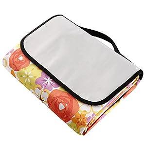 Waterproof Extra Large Mat For Picnic Yoga Beach Nap Baby Crawling Camping And Travel Picnic Blanket 79x79