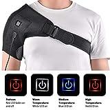 Heated Shoulder Wrap Brace Shoulder Heating Pad for Pain Relief Frozen Shoulder Pain Bursitis Labrum Tear Relax Shoulder Muscles (NOT