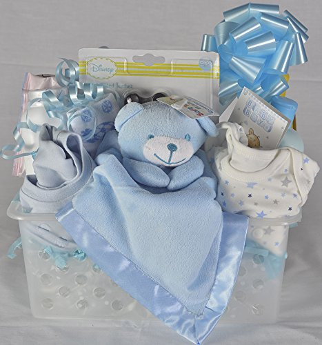 Newborn Baby Gift Hamper Baby Boy The Big Card Shop Bc21