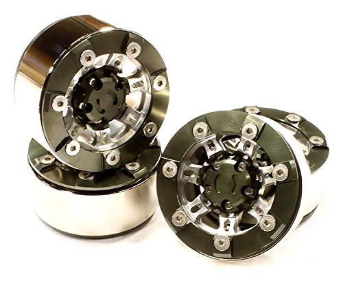tomamos a los clientes como nuestro dios INTEGY RC Model Hop-ups C25093GUN High Mass 1.9 1.9 1.9 Talla Alloy 7 Spoke Beadlock Wheel (4) for Scale Off-Road Crawler  Nuevos productos de artículos novedosos.