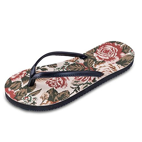 Gabriera - Sandalias de poliuretano para mujer Red