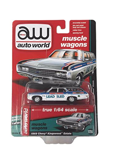 7 Chevrolet Chevelle SS Marina Blue Vintage Muscle 1/64 Diecast Model Car (Muscle Diecast Cars)