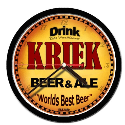 KRIEK beer and ale cerveza wall clock - Kriek Beer