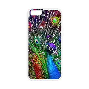 """HXYHTY Cover Shell Phone Case Peacock For iPhone 6 Plus (5.5"""")"""