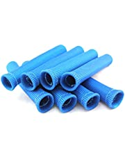 SWI Parts Spark Plug Protect Boot Heat Shield Thermal Protection Insulator 1 Inch ID x 6 Inches Long Pack of 8 (Blue)