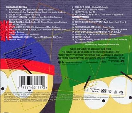 Amazon.com: South Park: Bigger, Longer & Uncut - Music From ...