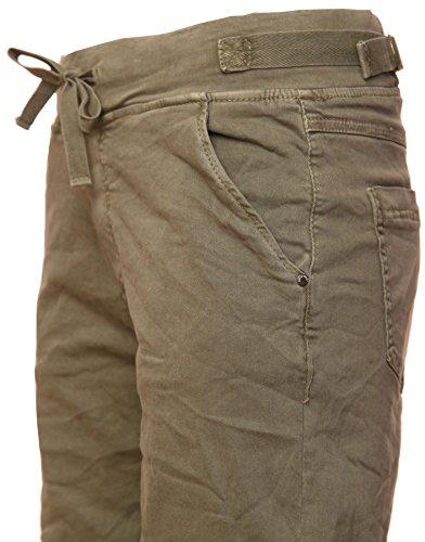 Khaki stretch Basic Bermuda shorts Cotton de qwwtXaz