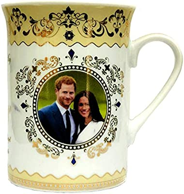 Prince Harry /& Meghan Markle Royal Wedding Commemorative China Mug