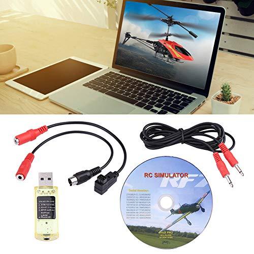 (FidgetKute 22 in 1 RC USB Simulator for Real Flight G7/G6/G5/Reflex XTR/Aero Fly/Car VRC2.0)