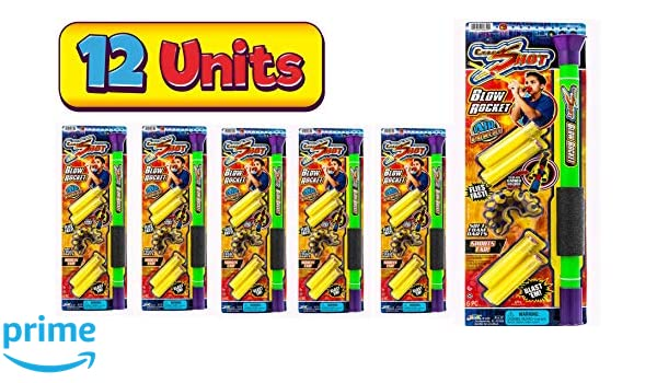Amazon.com: Ultra Foam Shot Darts Blow Gun by 2Chill |Toy ...