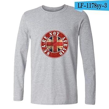 WEY T-Shirt Rock-Godfather Bob Marley-Druck-Beil/äufiges T-Shirt Unisex-Shirt
