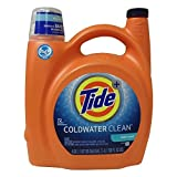 Tide Coldwater Clean Fresh Scent He Turbo Clean Liquid Laundry Detergent, 138 Oz., 89 Loads, 4.613 Pound