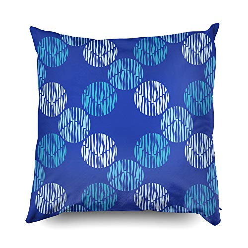 Nap Pillow Case for Couch,Shorping Zippered Pillowcases 20x20 Pillowcase Throw Pillow Covers Polka dot seamless pattern Geometric background Dots circles and buttons Can be used for wallpaper t for Ho