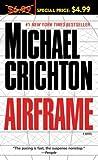 Airframe, Michael Crichton, 0345503090