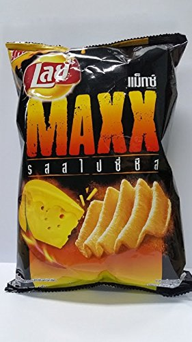 New Lay's Potato Chips Maxx Spicy Cheese Flavor 71 G