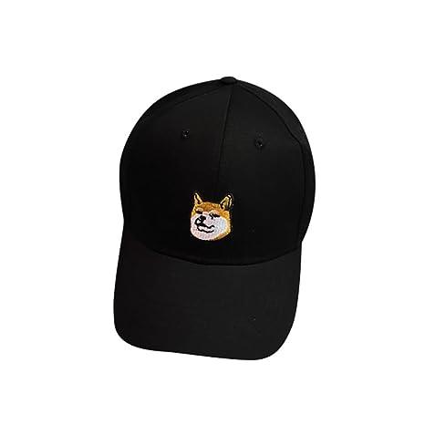 Rawdah Gorra linda del algodón del perro Snapback sombrero plano ...