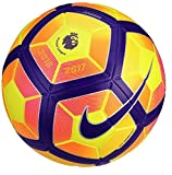 Nike Premier League Ordem 4 Football Soccer Ball(Hi-Vis) Yellow, Purple