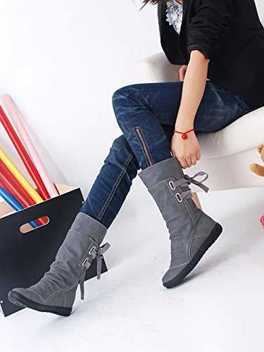 Insoles Lace Leather Martin Ankle Shoes Sexy Riding Riding Heel Up Winter 10 Grey Tactical Chukka Boots Desert Platform Lolittas Zipper Flat 3 Size Women nwZ7Pqw0