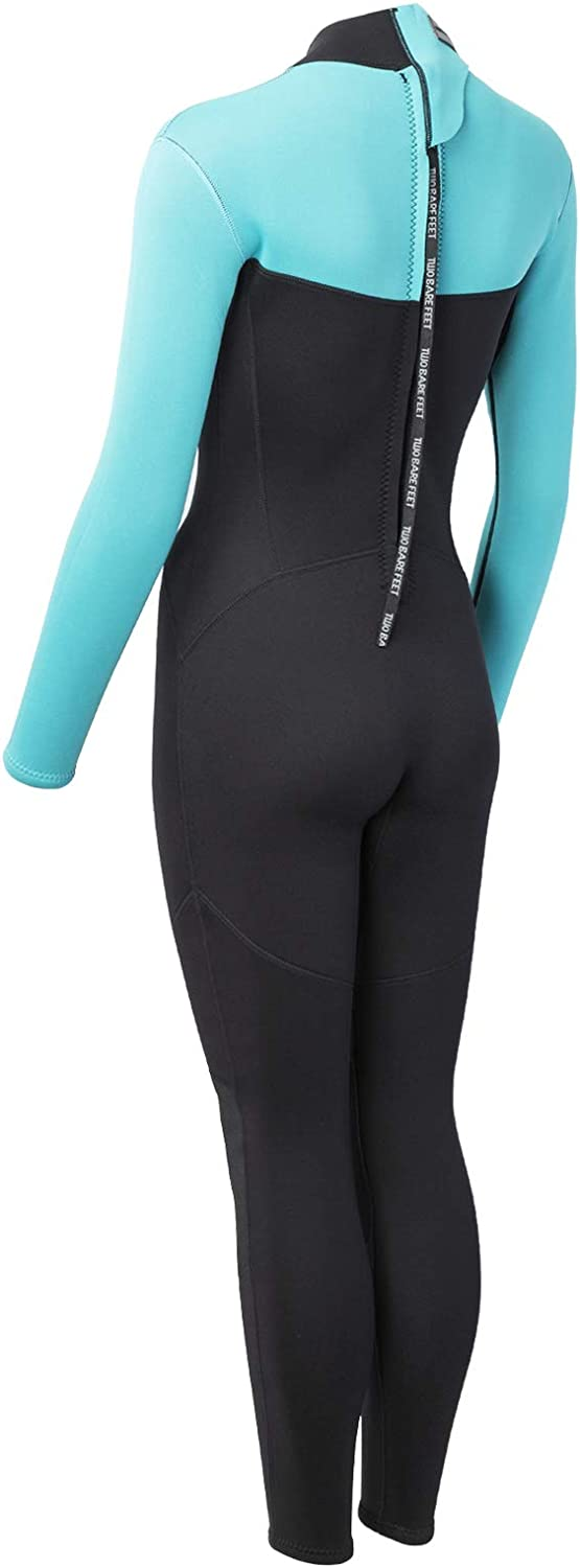 Two Bare Feet MD Womens 2.5mm THUNDERCLAP Full Length Neoprene Wetsuit by TBF Spring Summer Watersports