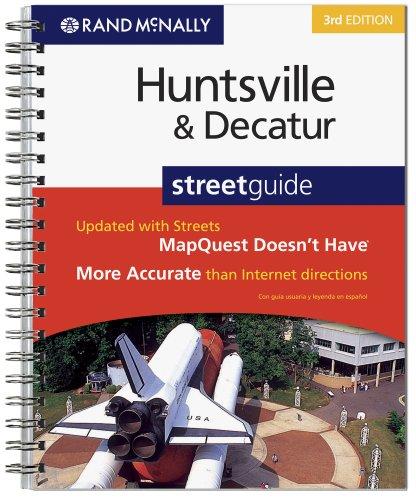 Rand McNally 3rd Edition Huntsville & Decatur, Alabama: Street Guide