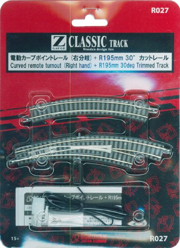 Right branch curve point Z gauge electric rail R027 for sale  Delivered anywhere in USA