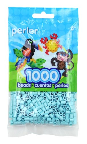 (Perler Toothpaste Green Beads for Kids Crafts, 1000)