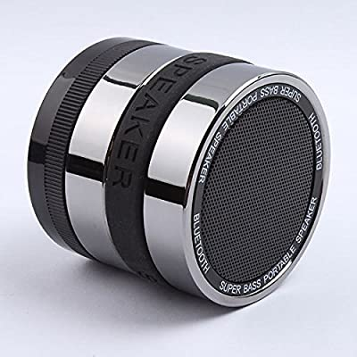Bluetooth Speaker, Wireless, portable, with microphone. Compatible with iPhone 3, 3s, 4, 4s, 5, 5s iPad, HTC, Sony, FM Radio, Auxiliary input, Rechargeable battery, Super Bass, 30 Day Guarantee!