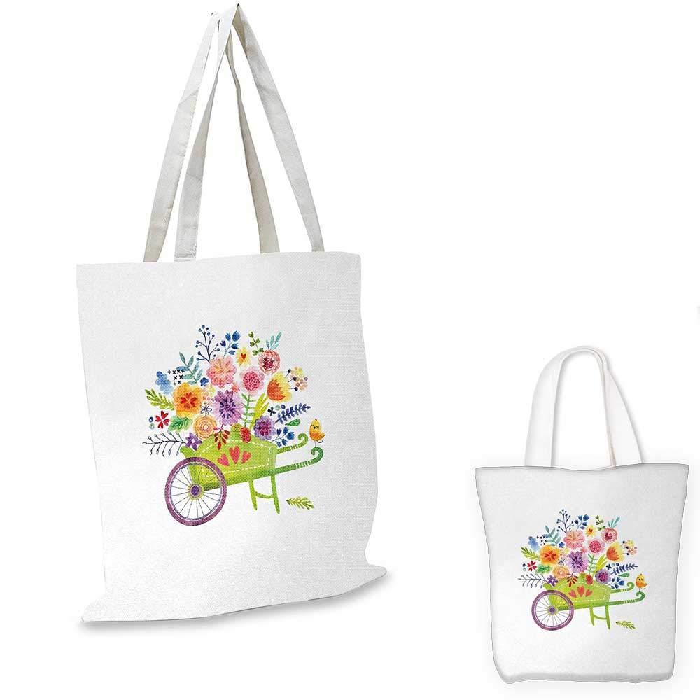 花の水彩画スタイル効果 ヴィンテージデザイン バラの鳥と羽 コーラルとレセダグリーン。 15