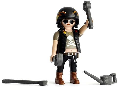 Promohobby Figura de Playmobil Serie 13 de Motero: Amazon.es ...