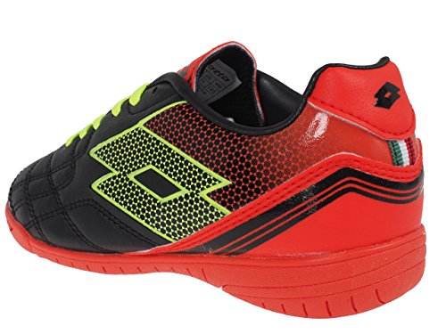 Lotto Spider XI ID Junior L, Jungen, black/yellow safety