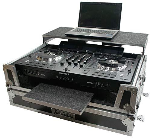 (Harmony HCNS7IIWLTTR Flight Ready Glide Laptop Stand Road DJ Case Numark NS7III)